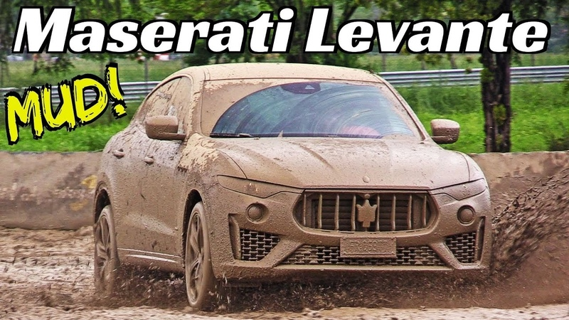 Maserati Levante Q4 where you dont expect to see it! 💪 - Extreme Mud 4x4 Off-Road Track