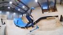 трюки на самокате Платон в скейтпарке ksspark 20190222