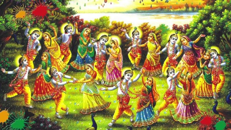 Shri Maa Hain Rang Raij Chunar Mori Rang