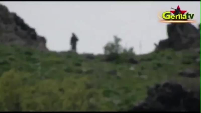 Kurdish sniper eliminated an invader belonging to the occupying turkish army in Northern Kurdistan.