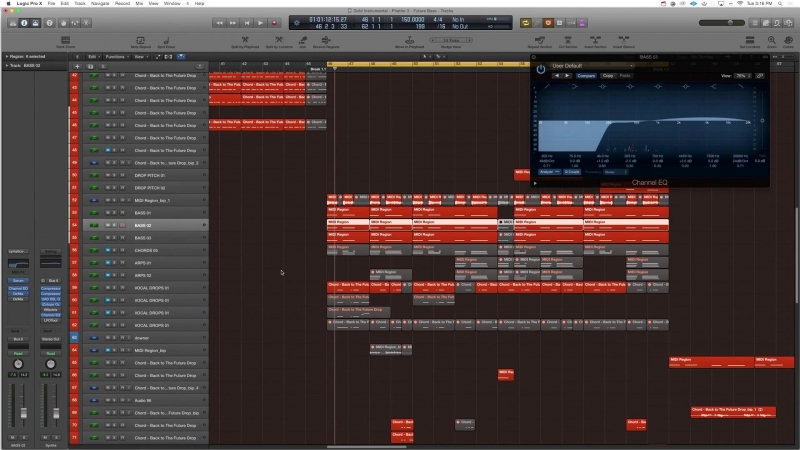 Academy.fm - How To Balance Your Bass Layers with EQ in Logic Pro X