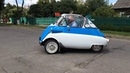BMW Isetta 1955-го года путешествует по дорогам Беларуси