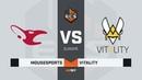 Vitality vs mousesports, map 1 overpass, ECS Season 7 Europe