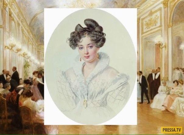 Княжна Софья Урусова - красавица, покорившая Николая I и Александра Пушкина