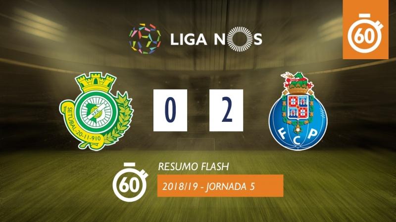 Лига НОШ 201819 (Тур 5) Витория Сетубал – Порту 02 (лучшие моменты)