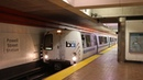 San Francisco Bay Area Rapid Transit BART Trains and Ride to the Airport