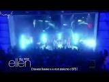[Rus Sub] [Рус Саб] BTS на The Ellen Show - превью.