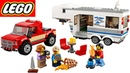 Lego City Pickup Caravan 60182 Собираем конструктор Лего с Моней