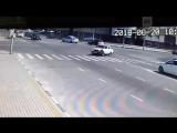 Нападение на полицейских в Грозном