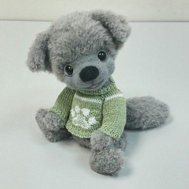 Маленький волчонок Дени (2 фото) - картинка