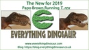 New for 2019 Papo Brown Running T  rex Model