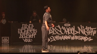 NESS vs GUCCHON_OLD SCHOOL NIGHT VOL.20_POPPING 1on1 BATTLE BEST8