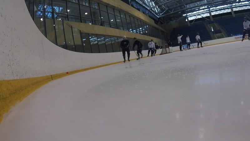 Первый лёд нового сезона для ХК «Байкал-Энергия»