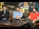 Ed Helms, Bradley Cooper & Zach Galifianakis -- The Hangover Part II Interview