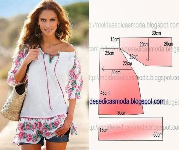 Сшить красивую блузку своими руками фото 335