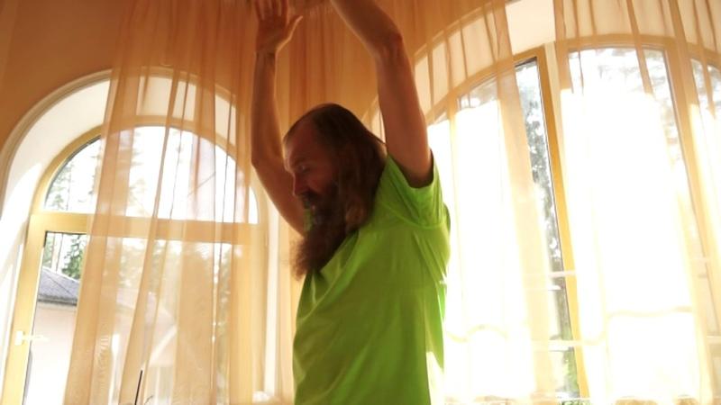 Положение рук на стадии Стоп! Динамическая медитация Ошо. Мастер-класс.