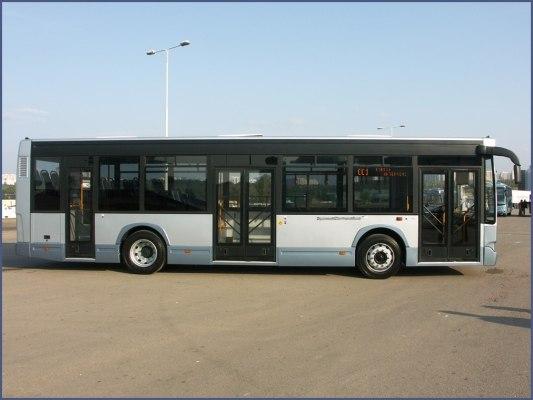 Габариты автобуса