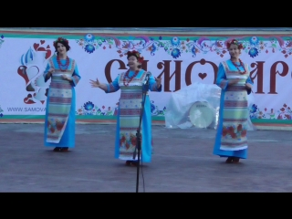 Выступление музыкального коллектива на сцене, день города Орла 5 августа, город Орёл, 2018 год