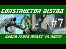 Constructor Distra #7 - Lego Hero Factory (Invasion from Below) - Летун и Бриз