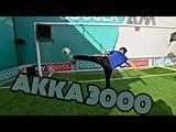 Обучение футбольным финтам:AKKA 3000