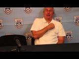Видео НФ: Олег Лутков. Послематчевая пресс-конференция МФК