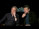 Martin Freeman and Andy Serkis interview on the casino set and destroying it