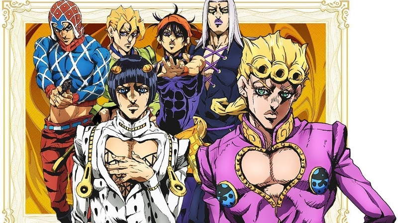 Jojos Bizarre Adventure Part 5 Vento Aureo Opening 1 HD