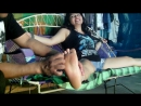 "Daniella ""indefensa"" foot tickling ,first time (PREVIEW)"