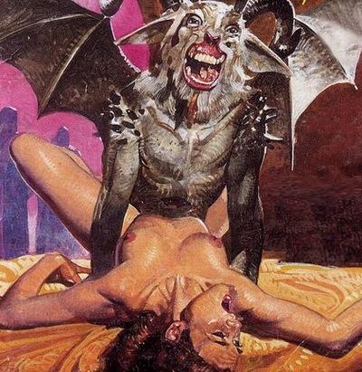 Неземной секс с инкубом