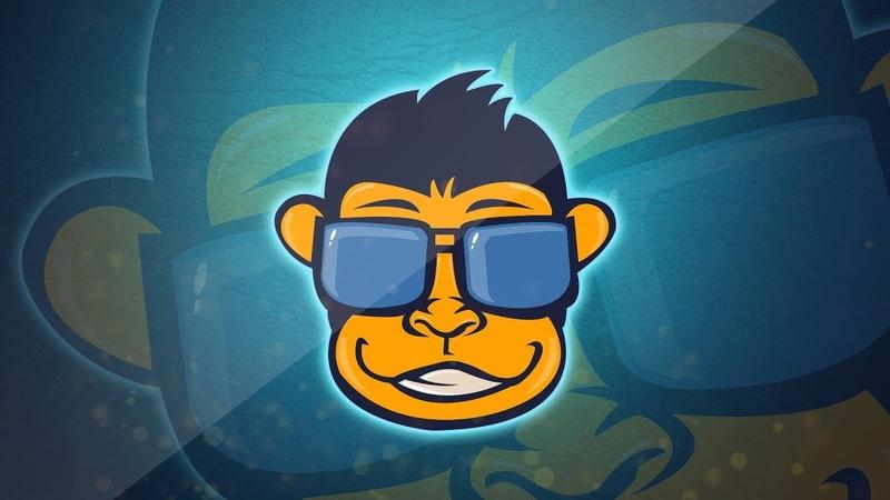 Mascot Monkey logo Illustrator Tutorial