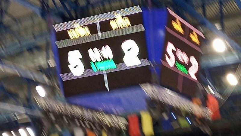 Хоккей. Витебск vs Бобруйск. 3-й период (последние минуты)