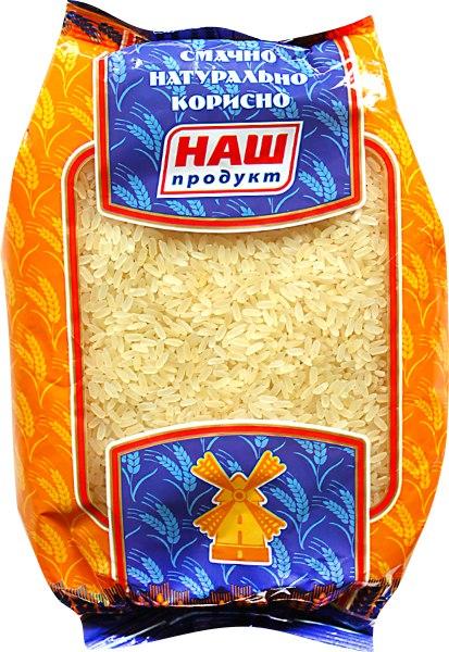 Рис пропарений, Наш Продукт, 1 кг