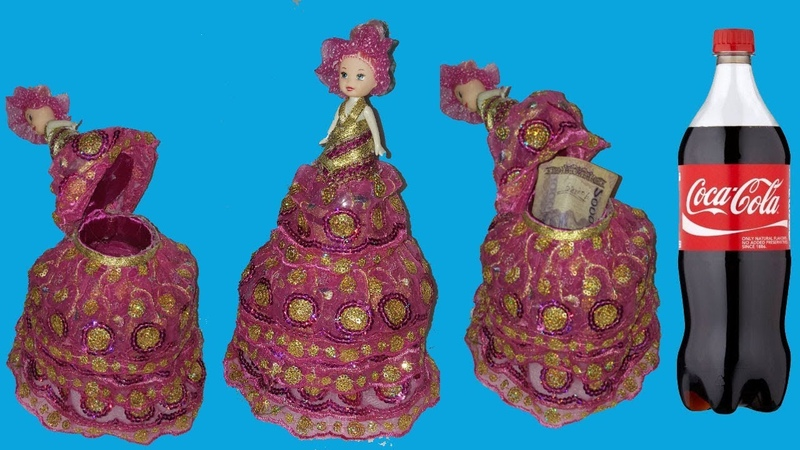 How to make doll with plastic bottle best out of waste plastic bottle craft dustu pake