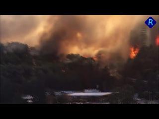 Israel, Haifa fires | Израиль в огне. Сильные пожары в Хайфе.