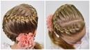 HOW TO: French Braid Snake | Zig Zag Braid | Trança embutida (Easy little girl hairstyles 59)