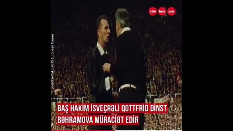 Dünyaya səs salmış qərarın müəllifi, Tarixin 50 ən yaxşı futbol hakimindən biri Tofiq Bəhramov...