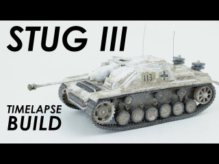 Airfix StuG III Timelapse Build - 1:76 Scale Kit