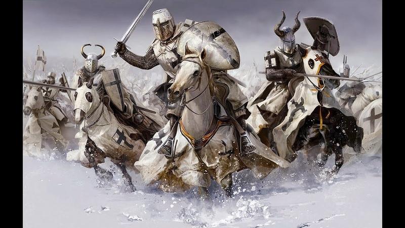 Битва при Грюнвальде Тевтонский Орден (Фрагмент фильма Крестоносцы - 1960)