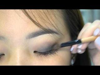 Простой вечерний макияж с помощью корейской косметики.