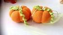 Como tejer calabaza y escoba bruja Halloween amigurumi By Petus