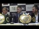 Press conference tournament The War proboxing.eu