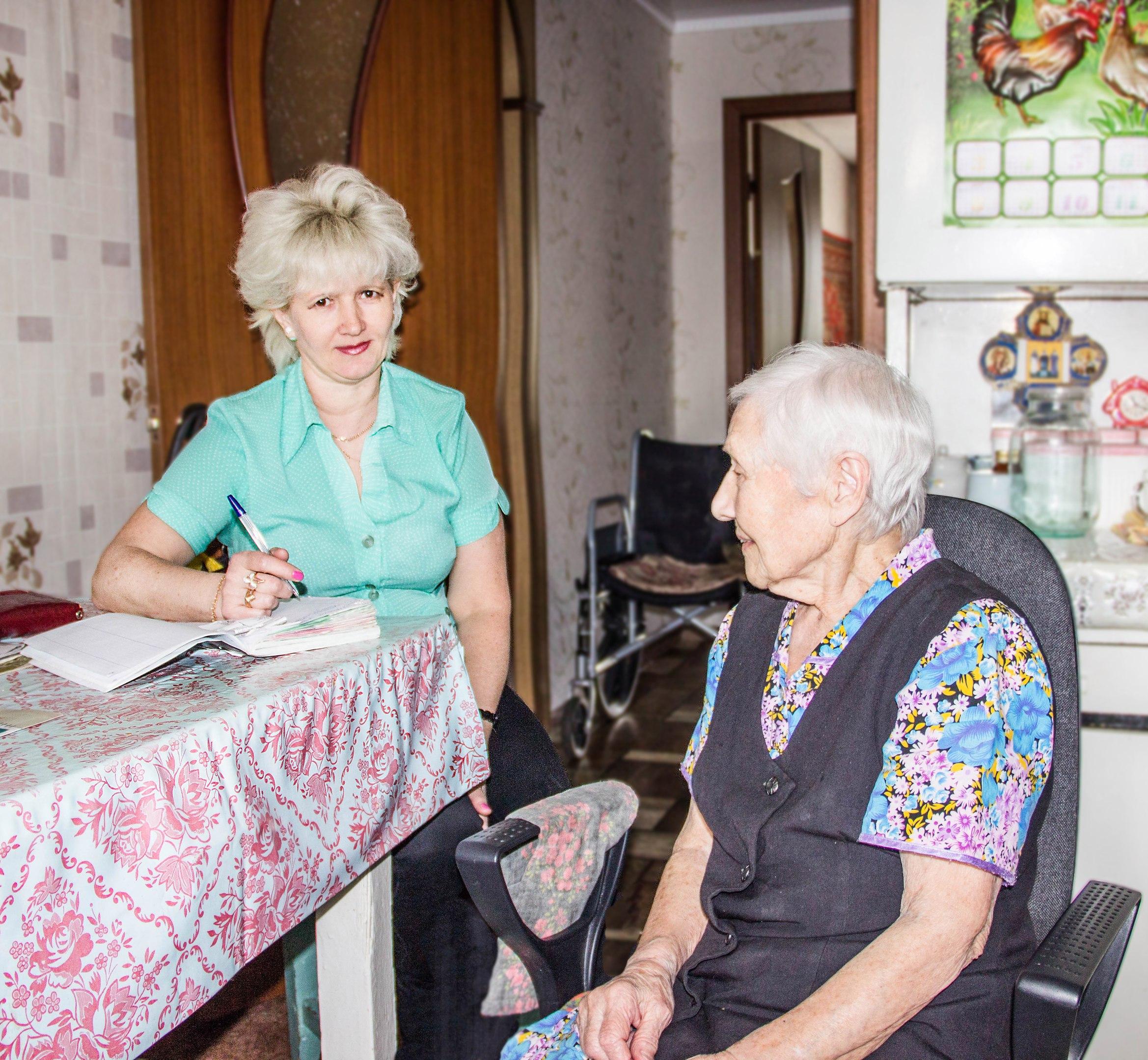Наталья Лексина со своей подопечной Марией Фроловой