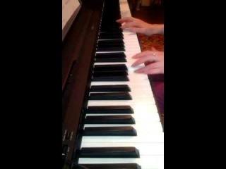 """�.�������� - ���� �� �/� """"����������� ������� ������ � ������� �������"""" (piano cover)"""