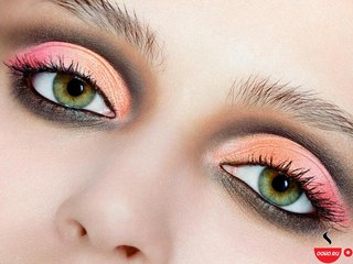 Восточный макияж для светлых девушек