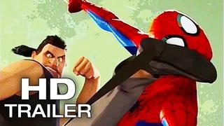 SPIDER-MAN: INTO THE SPIDER VERSE Sneak Peek Trailer (2018) Animated Superhero Movie HD