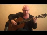 Scorpions wind of change acoustic cover Yuri Volkov arrangment