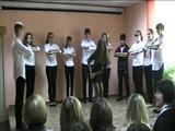 Поздравление от 8 класса на день учителя)