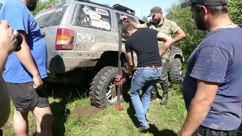 Шишига и УАЗ всетаки встряли Чермет-ТРОФИ 4-серия OFF ROAD 4×4