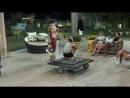 Marcelo provoca Rita e Matheus por causa da louça e clima fica tenso na sede