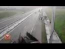 Авария с грузовиком в Емельяновском районе